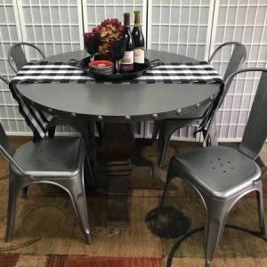 Photo of Gray Table and Chairs