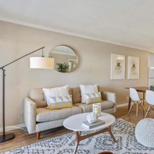 Photo of Modern fabric sofa