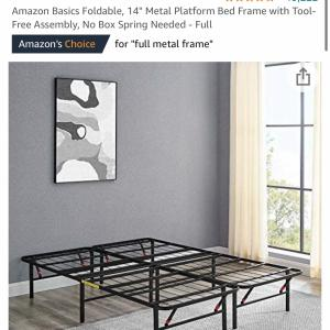 Photo of Mattress and bed frame