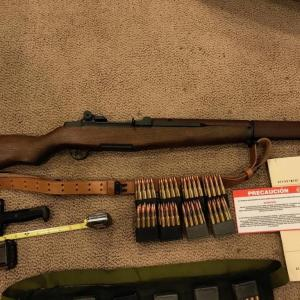Photo of New CMP Springfield M1 Garand 30-06 Plus Tons Of Ammos