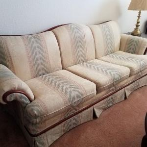 Photo of FREE Sofa, Loveseat and Chair Living Room Set