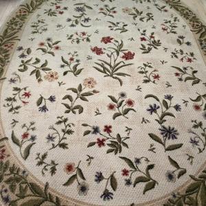 Photo of area carpet