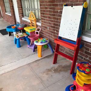 Photo of Church Yard Sale