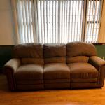 3 Seat Double Recliner Sofa