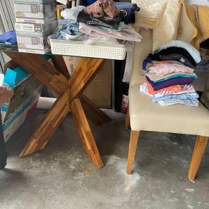 Photo of Jackie's yard sale