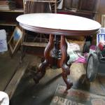 Late 1900's Drexel Oval Marble table.