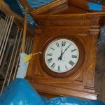 """Massive Standard Electric Schoolhouse wall Clock""."