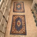 Lot 288 - Two Small Blue Rugs