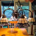 Tiffany-Style 6 Light Chandelier