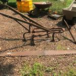 Vintage Old plow