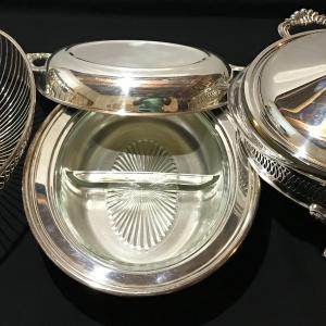 Photo of Vintage  Silver Plate Set