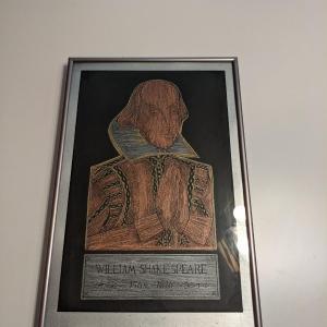 Photo of Framed Shakespeare Art