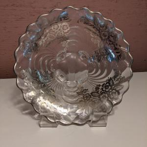 Photo of Silver Inlay Glass
