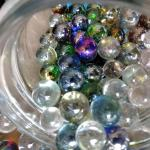 LOT 419  THOUGHT WE WERE DONE WITH MARBLES!