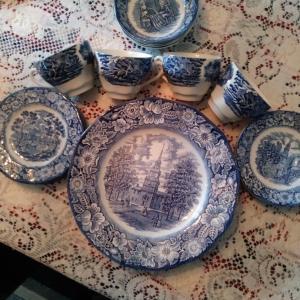 Photo of 20 piece Ironstone set
