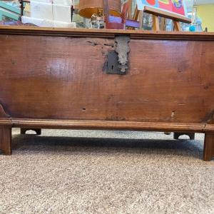 Photo of Item 3. Large Antique 17th-18th Century Brazilian Voyage/Sea/Officers Trunk, foo