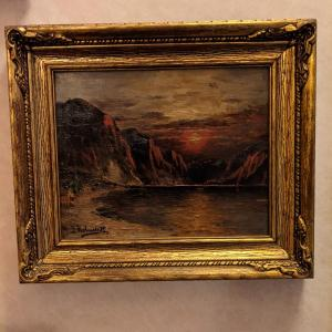 Photo of Signed Vintage Oil Paintings