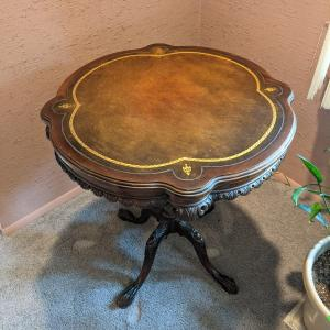 Photo of Georgian Style Vintage 1940's Carved Table