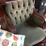 Vintage sofa and chair
