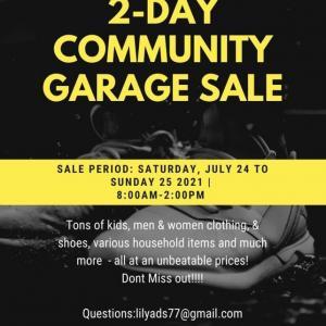 Photo of 2 - Day Community Garage Sale