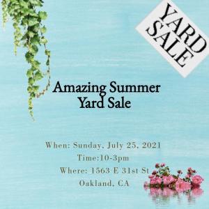 Photo of Amazing Summer Yard Sale