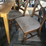 2 roll around chairs