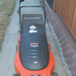 "Photo of 19"" Electric LAWNHOG Mulching Mower"