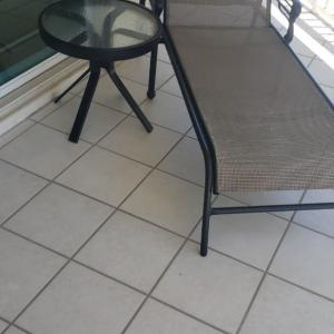 Photo of Patio Lounger with Table