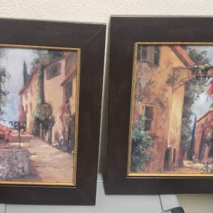Photo of Alleyways of Sicily Artwork, 2 Pieces
