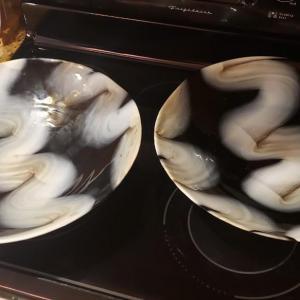 Photo of 2 Italian Yalos Casa Murano Decorative Glass Plates