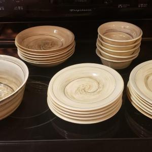 Photo of Italian Murano Shell Plates