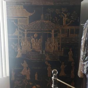 Photo of Antique Oriental Armoire