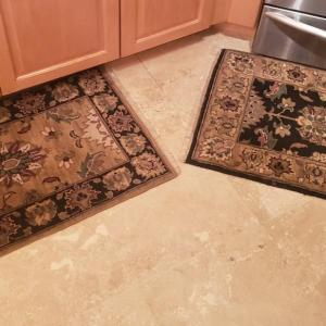 Photo of 2 Kitchen Rugs