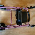 Nova Pink Seated Walker