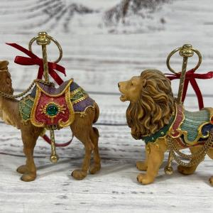 Photo of Circus animals set of 7 ornaments