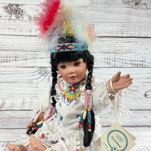 Photo of 1994 Snowbird The Hamilton Collection Native American girl doll