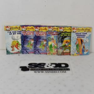 Photo of 6pc Geronimo Stilton Books: I'm Too Fond of My Fur! -to- Watch Your Whiskers