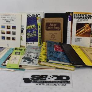 Photo of Lot of Sheet Music: Trombone, Christmas Songs, Piano, etc