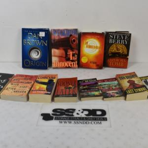 Photo of Lot of Thriller Novels: Origin -to- Cat & Mouse