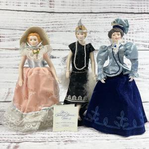 Photo of Victorian Porcelain Doll Collection Avon