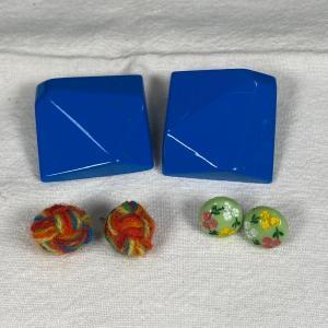 Photo of Funky Retro Earrings