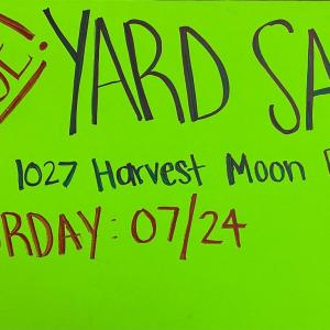 Photo of HUGE yard sale!