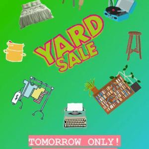 Photo of YARD SALE 7/24 11-4 - vintage/contemporary items - NUTLEY, NJ