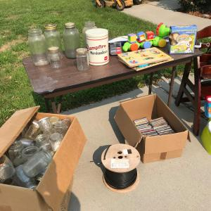 Photo of Yard Sale, Tools, Canning Items, Bike, Antiques and more