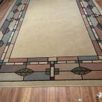 Area rug and matching accent rug $90