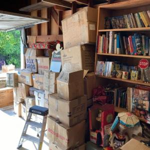 Photo of GARAGE FULL OF ANIMATION & COMICS  COLLECTIBLES MUST BE PICKED UP IN LA BY 8/1