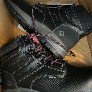Photo of Brand New-Women's Wolverine Size 7.5 Steel Toed Boots