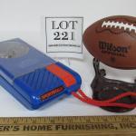Vintage Wilson Football Radio, SportsTalk Player