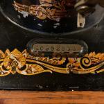 Singer Coffin Top sewing machine