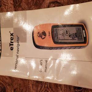 Photo of eTrex personal navigator